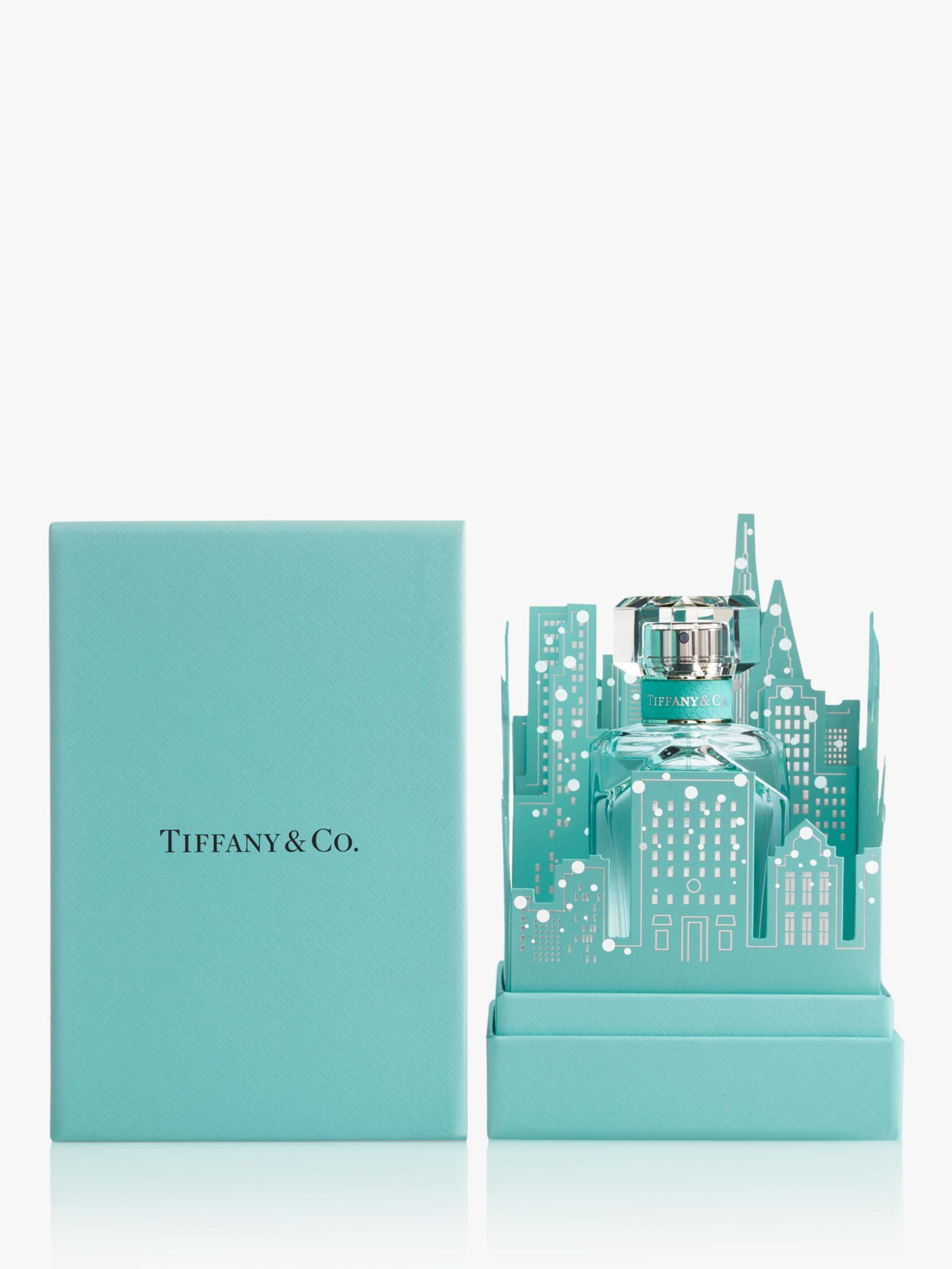 Tiffany Co Tiffany Eau De Parfum 75ml Limited Edition Skyline Fragrance Gift Set Tiffany Blue Box Iris Flowers Fragrance Design