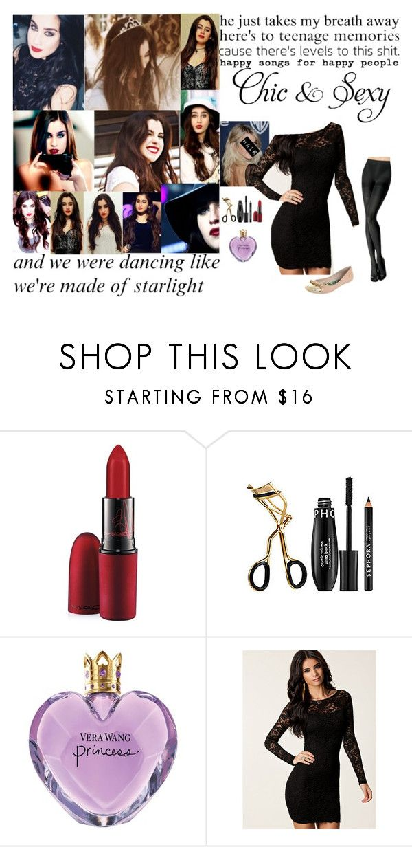 """""""My brother's birthday party"""" by angelina-fiorilo ❤ liked on Polyvore featuring MAC Cosmetics, Sephora Collection, Vera Wang, John Zack and Colcci"""