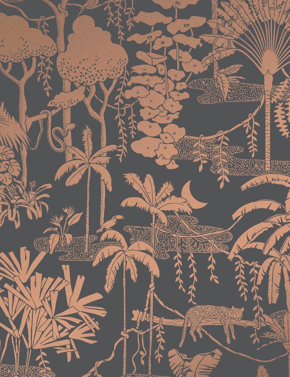 Jungle Dream Glint Jungle pattern, Paint colors benjamin