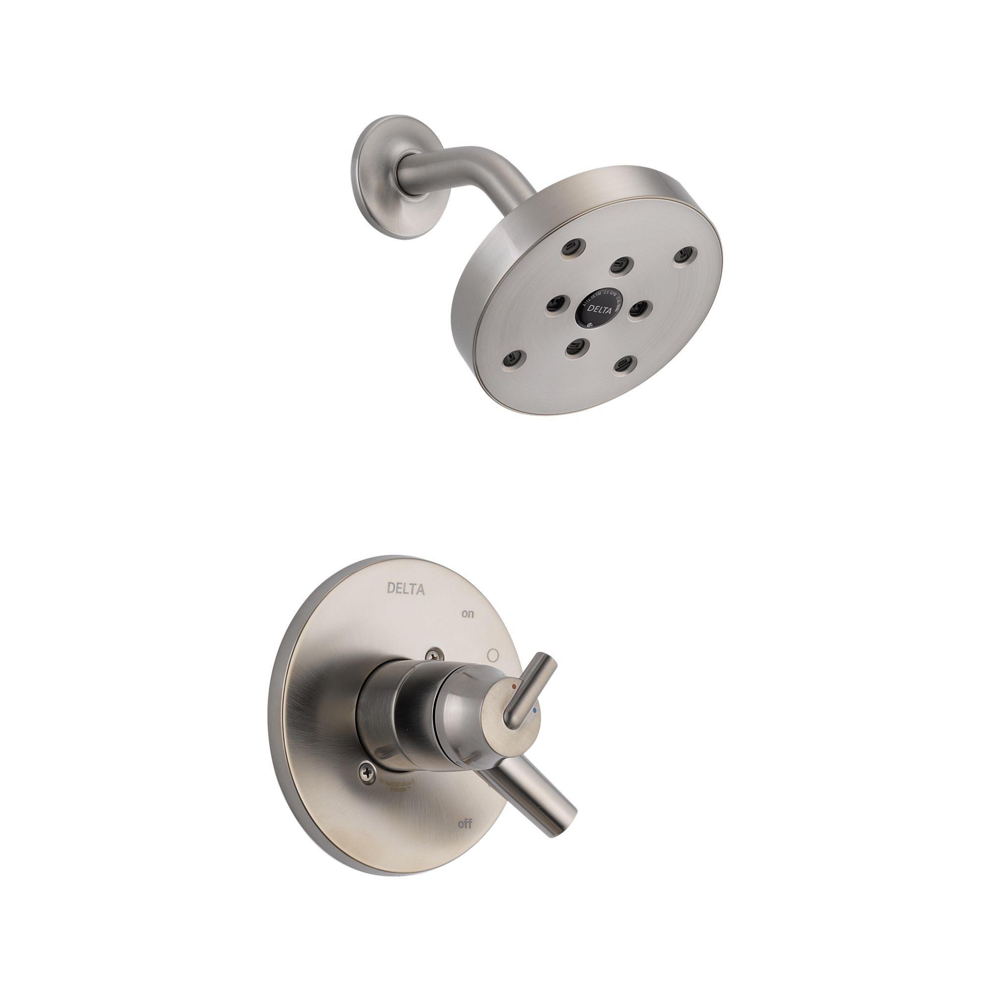 Trinsic Bathroom Shower Faucet Trim with Lever Handles