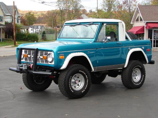 1970 Bronco Ford Bronco Bronco Old Ford Trucks