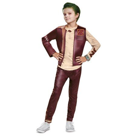 Disney Channel ZOMBIES Zed Football Jersey Classic Child Costume