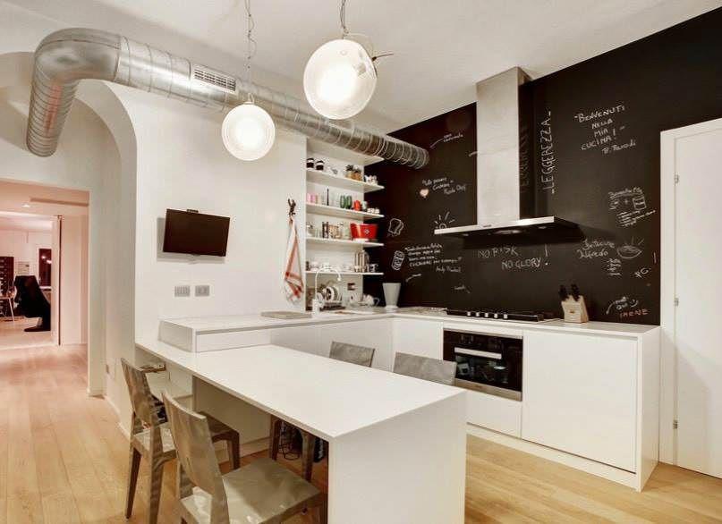 Parete Cucina Moderna.100 Idee Cucine Moderne Stile E Design Per La Cucina