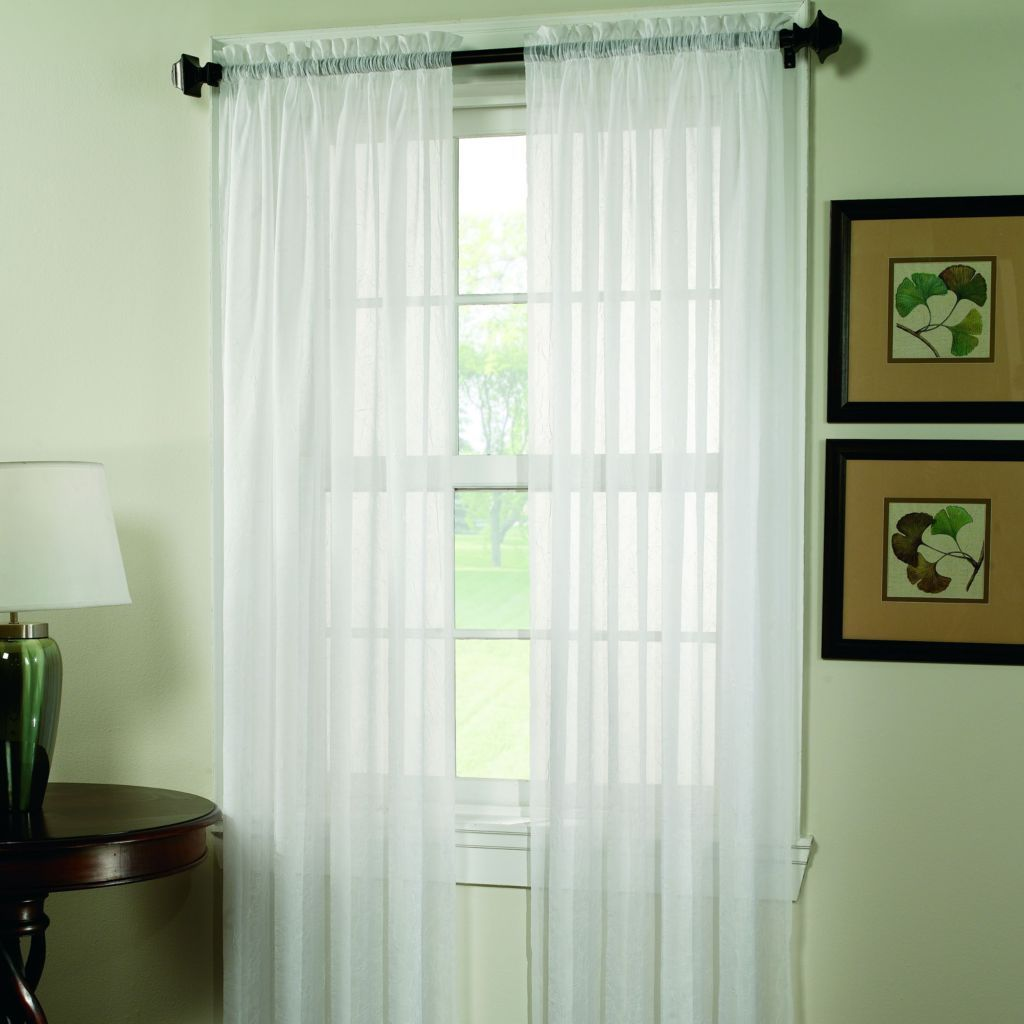 sonoma goods for life™ crushed voile curtain | window panels