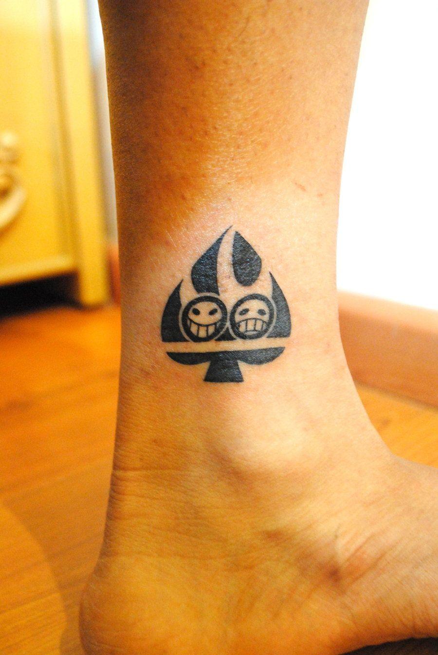 Portgas D Ace Tattoo One Piece Tattoos Ace Tattoo Y Anime