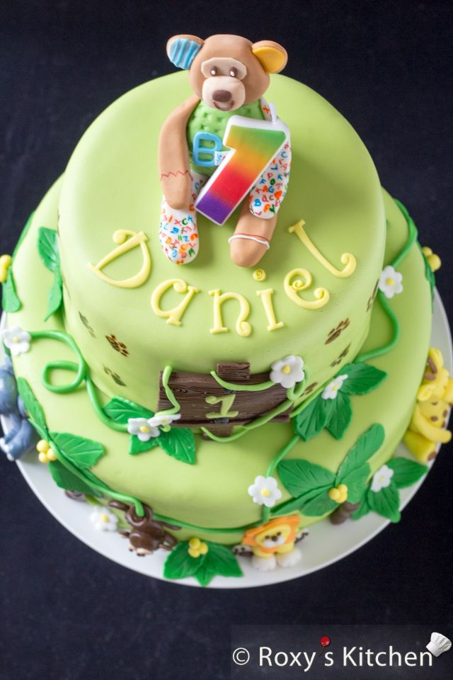 Safari Jungle Themed First Birthday Party Dessert Ideas Two