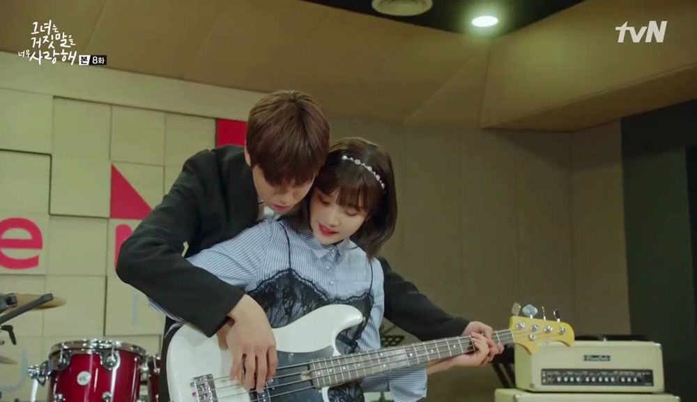 The Liar And His Lover Episode 8 Dramabeans Korean Drama Recaps Liar And His Lover The Liar And His Lover Kdrama Lovely Love Lie