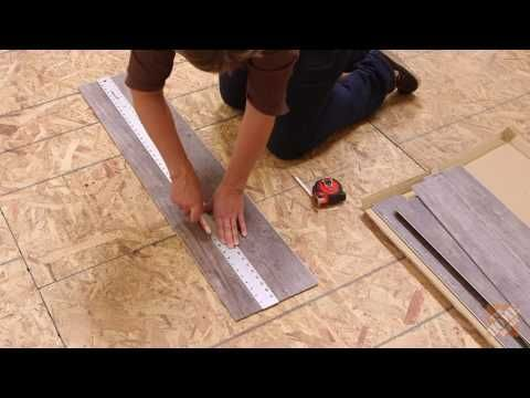 How To Install Allure ISOCORE Vinyl Flooring YouTube Basement - Vinyl flooring youtube