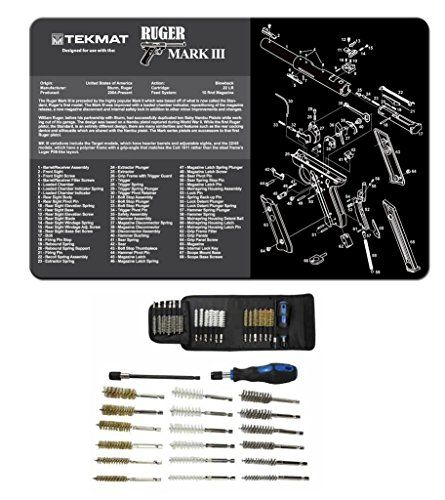 Ultimate Arms Gear Glock Cleaning Mat And Chamber Barrel Cleaning And Care