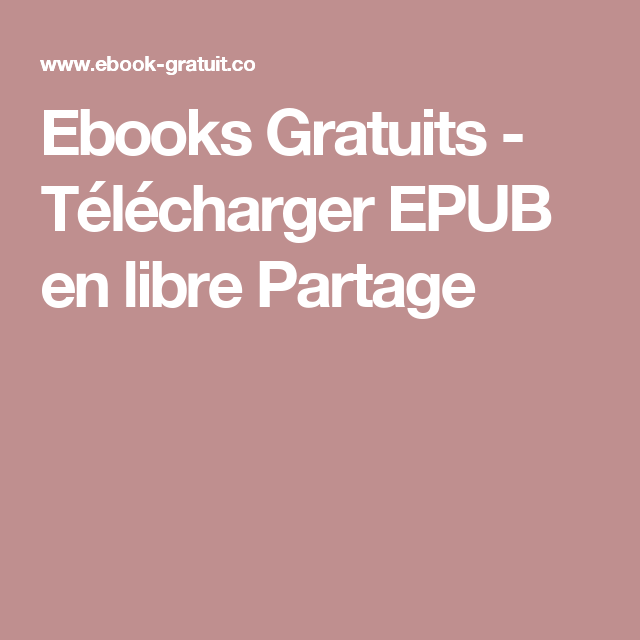 Télécharger vos Ebooks Gratuitement en format EPUB PDF et utiliser votre  lisseuse préférée pour les lire. Livres électroniques gratuits. Zone  Téléchargement
