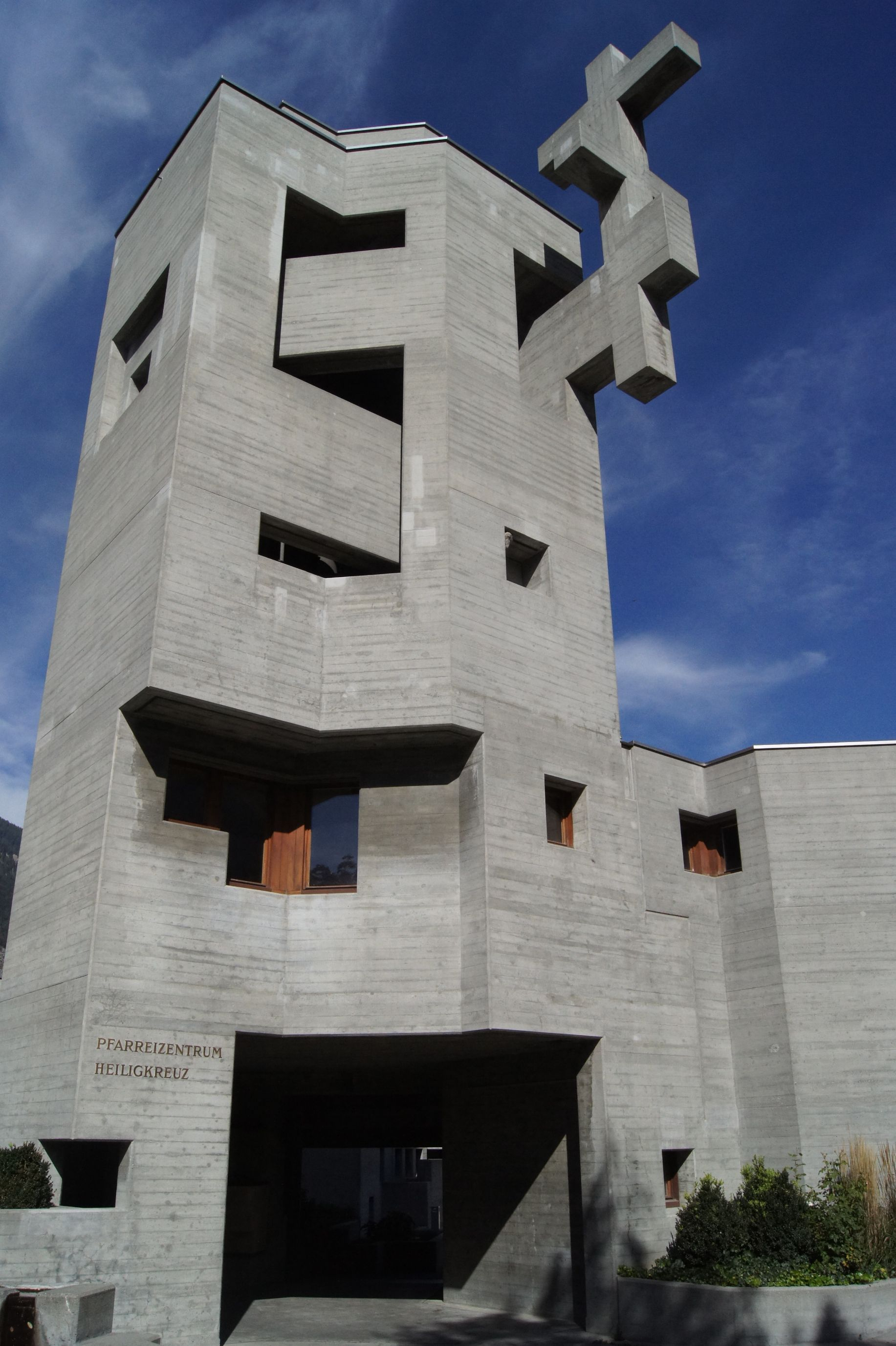 Architecture In A Brutalist Style We Shape Our Buildings