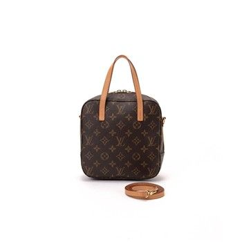 Spontini Monogram - Sac Louis Vuitton - brun - Louis Vuitton   Brandalley 42eb92f3119