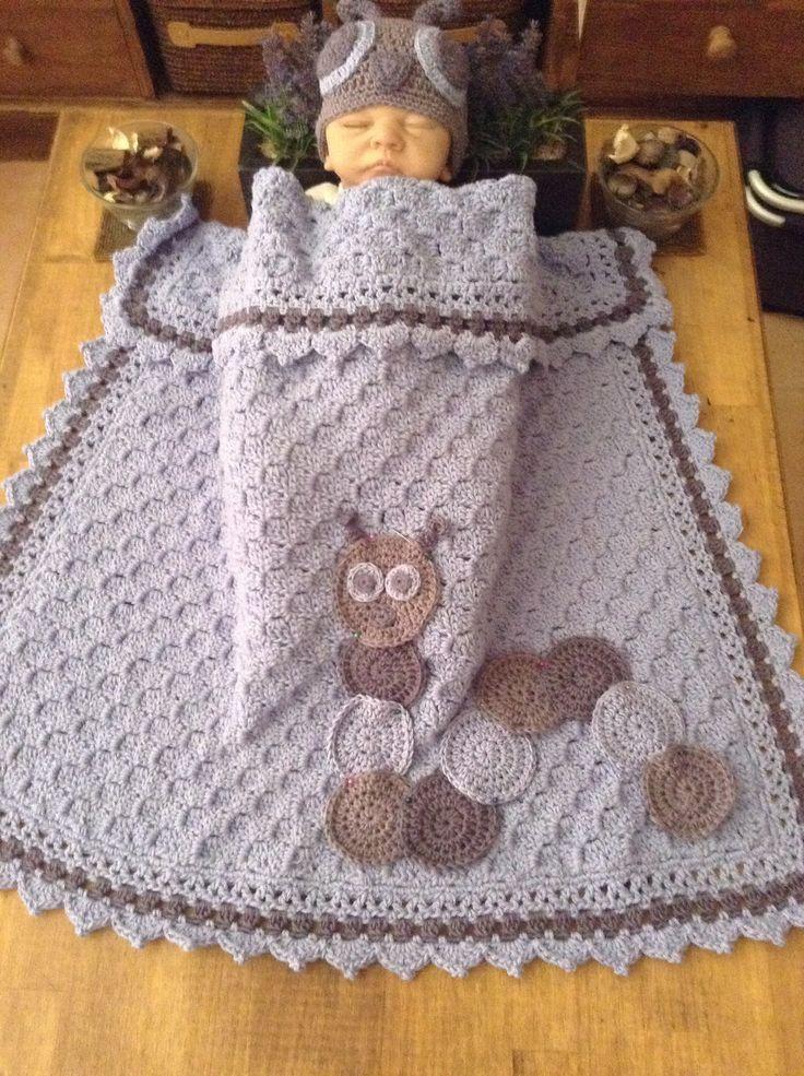 Pin von Amparo Martínez auf crochet | Pinterest | Babydecken, Decken ...