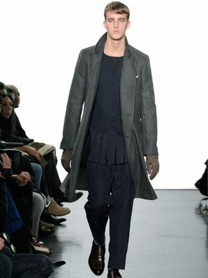 c55d99669e1 The coat is fabulous. The rest, not so much. YSL Men's Clothing ...
