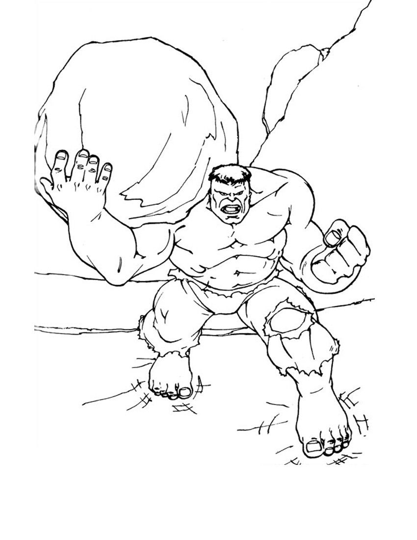 Free Printable Hulk Coloring Pages For Kids Hulk Coloring Pages