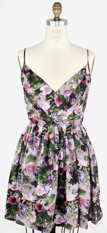 Flowers in The Spring Dress