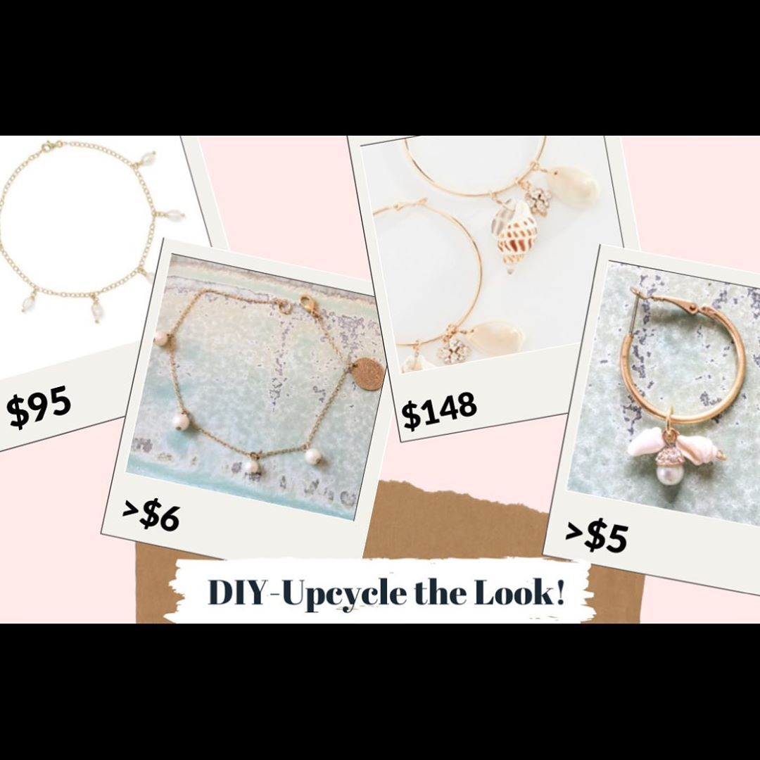 DIYUpcycled Jewelry Knock Offs  I finally put up another video linked in bio