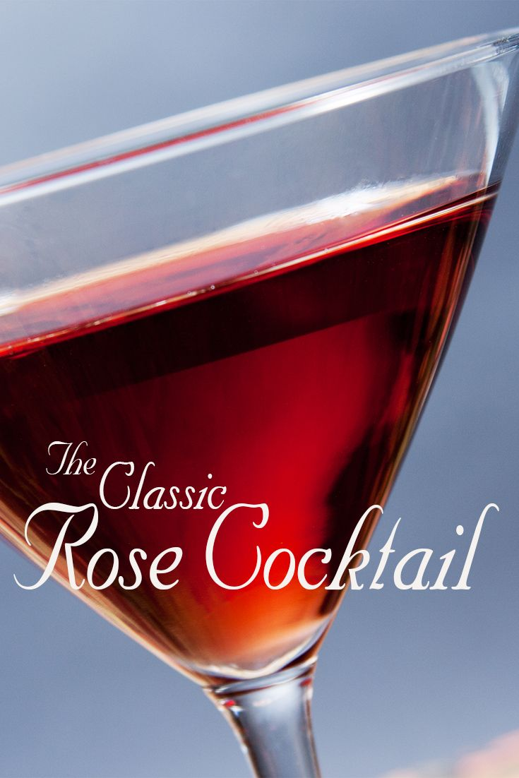 Rose Cocktail Recipe In 2020 Rose Cocktail Strawberry Cocktails Cocktail Drinks