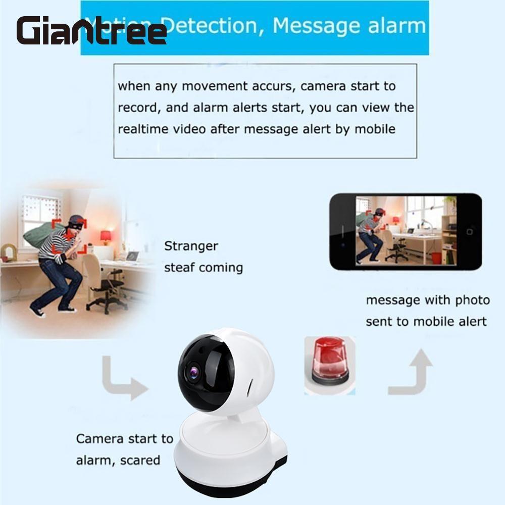V380 WIFI Surveillance Camera Premium Video Recorder WIFI IP