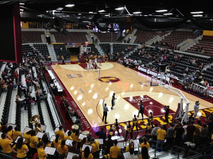 Joseph J Gentile Arena Loyola University Chicago Loyola University Arena