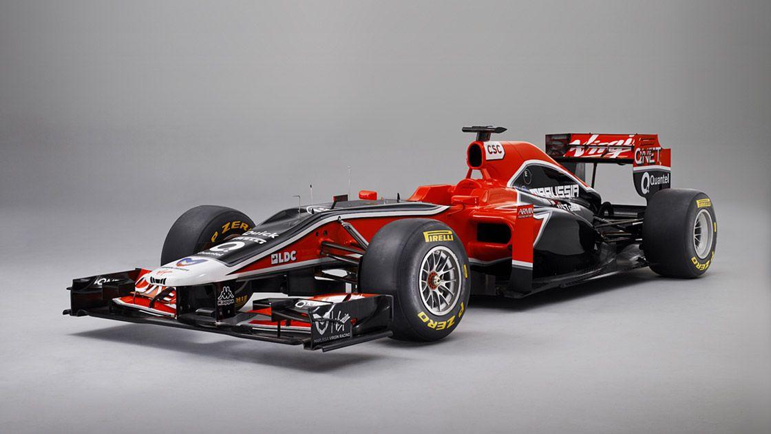 Marussia F1 car 2012