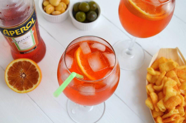 Spritz Ricetta Con Acqua Frizzante.Spritz Ricetta Ricette Liquori E Cocktail Aperitivo
