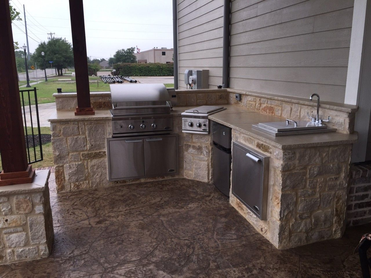 Outdoor Kitchens Bbq S Concrete Kitchen Outdoor Living Areas Concrete Patio