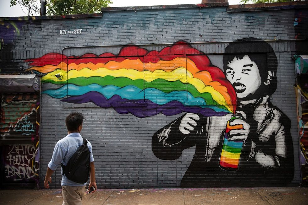 IlPost - (Andrew Burton/Getty Images) - (Andrew+Burton/Getty+Images) I graffiti di 5 Pointz