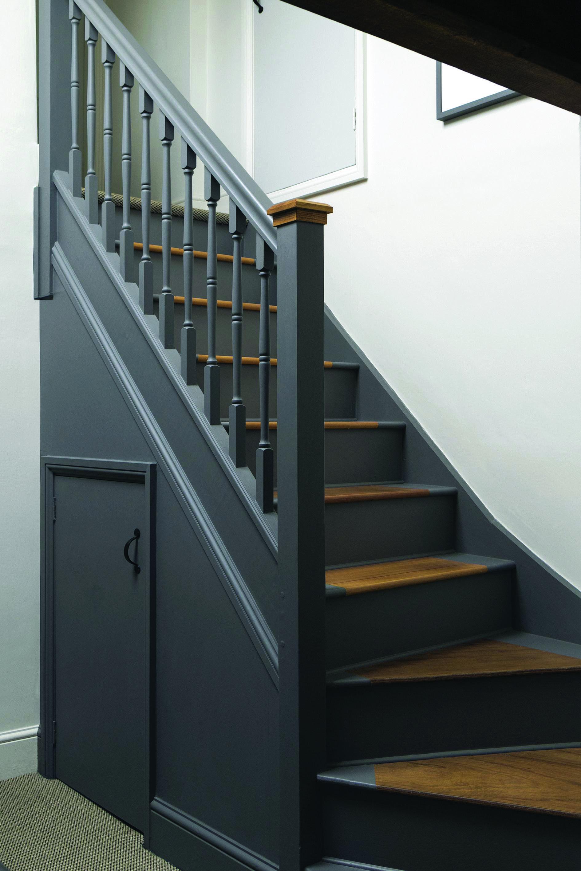 Peindre Une Rampe D Escalier En Bois painted staircase ideas   escaliers maison, escalier relooking