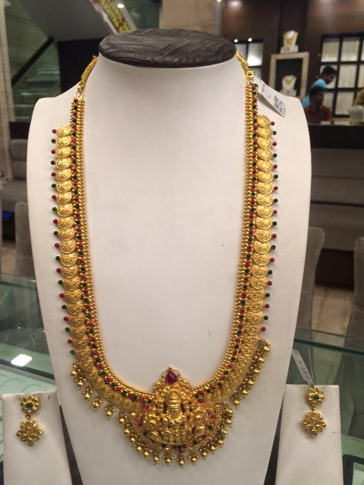 80 Gms Haram In 2019 Gold Temple Jewellery Gold