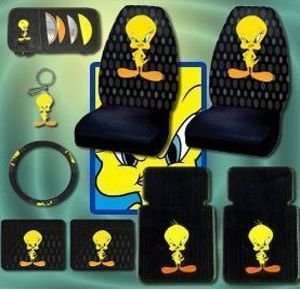 Looney Tunes Fan Check Out These Tweety Car Accessories