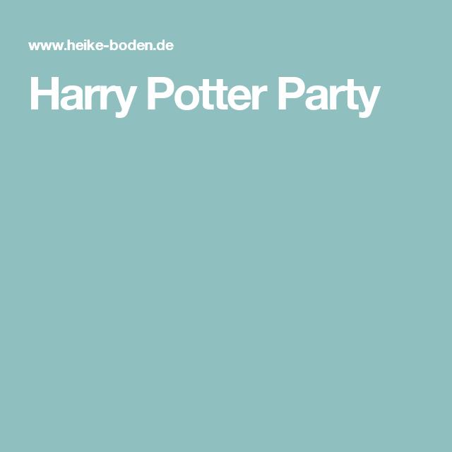 harry potter party | harry potter einladung | pinterest | harry, Einladung