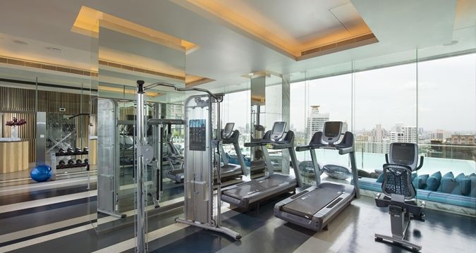 Pin By On Gym Design Hotel Workout Rooms Bangkok Hotel