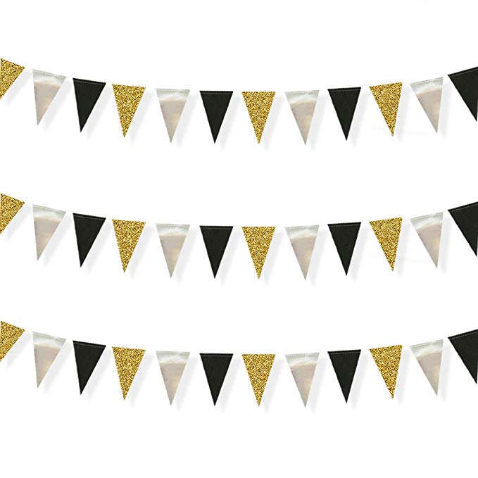 Pennant Banner Template Gold Banner Flag Png Transparent Regarding Triangle Pennant Banner Pennant Banner Template Birthday Banner Template Banner Template