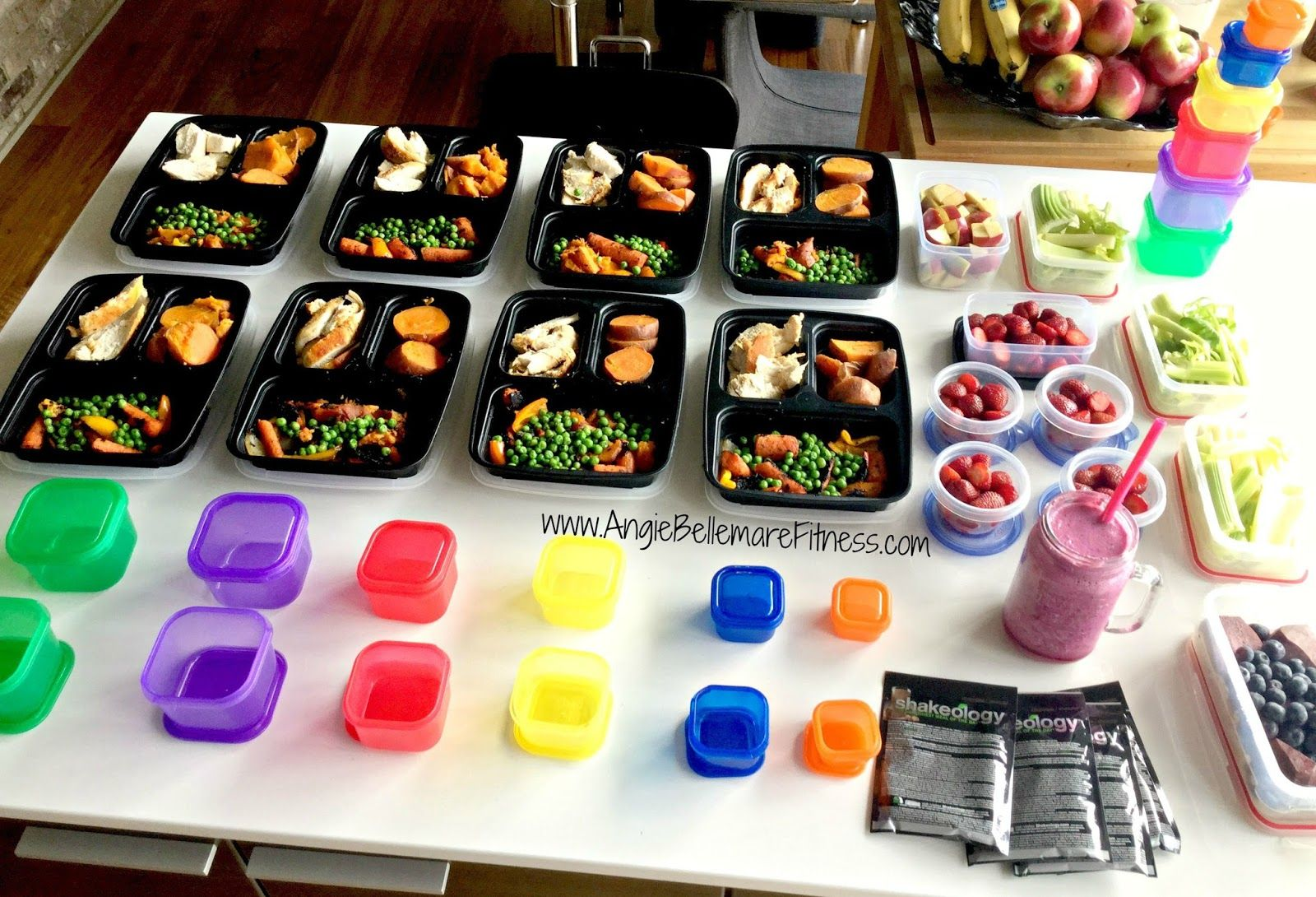 Angie Bellemare Fitness: Meal Prep with the 21 Day Fix