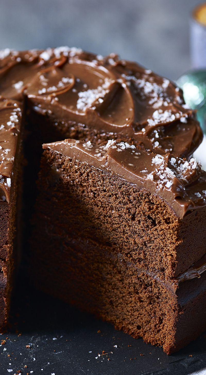 Salted Chocolate Cake Recipe Recipe Salted Chocolate Desserts Cake Recipes