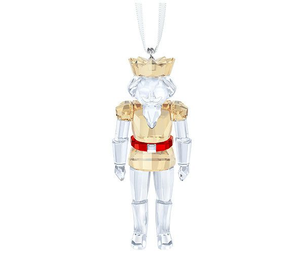 A timeless decoration with a festive color combination. Hanging on a white satin ribbon, Swarovski's Nutcracker Ornament is beautifully crafted in... Shop now