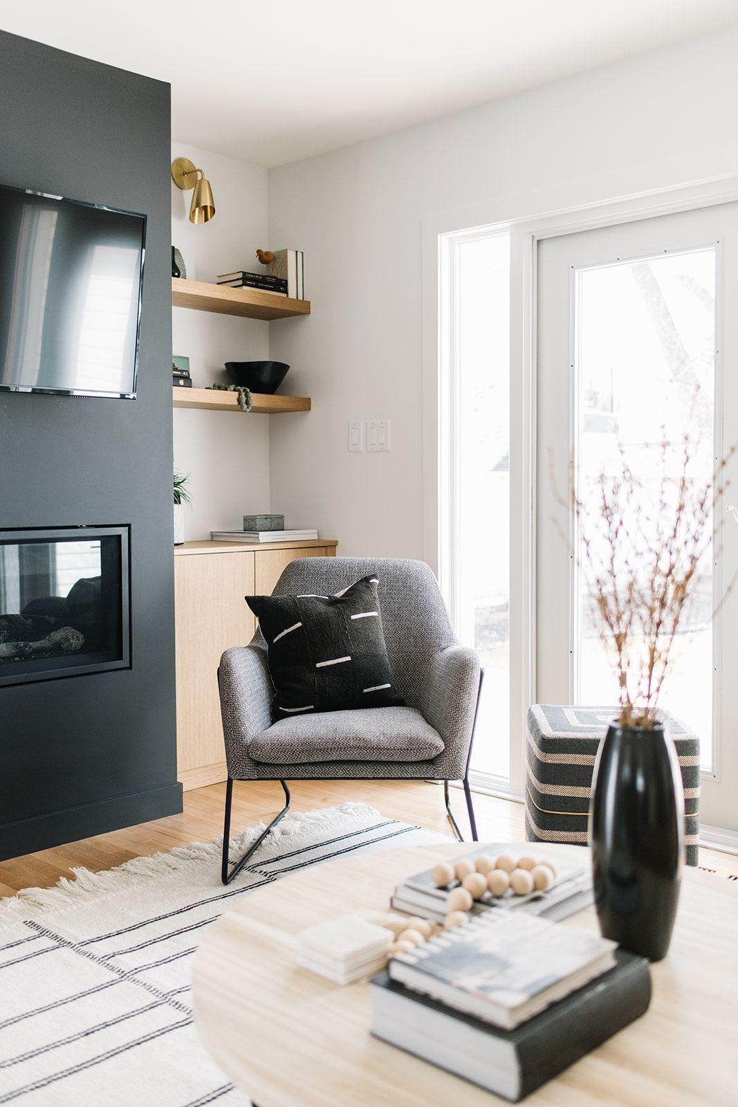 Inside a Modern Scandi-Chalet in Edmonton - Western Living ...