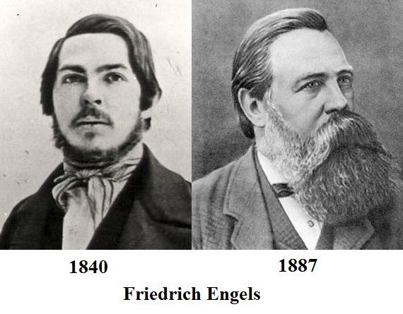 To those asking if your beard will fill as you age: this is Friedrich Engels | Walrus mustache, Karl marx, Beard