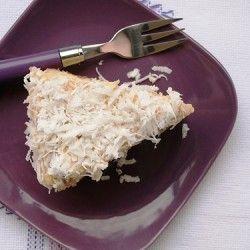 Pão de ló com creme de leite de coco