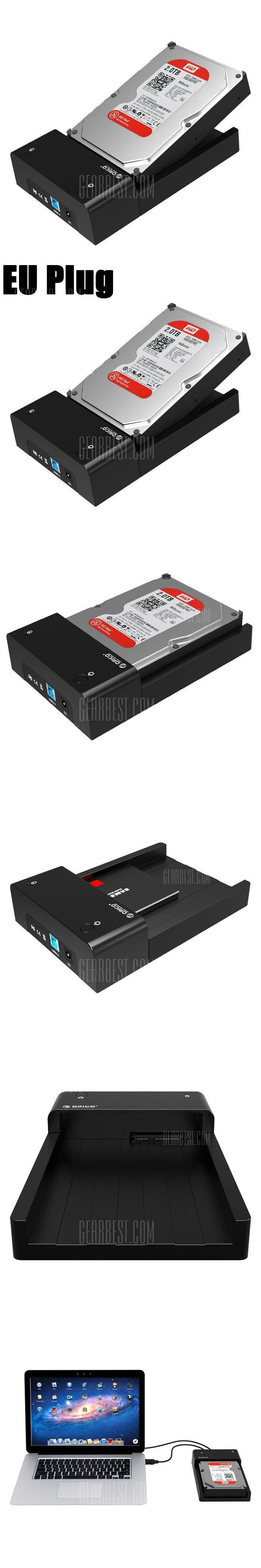 Orico 6518us3 V1 Usb 30 Hard Disk Drive Enclosure Case Portable Docking Usb30