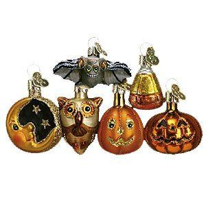 halloween ornament set   Halloween ornaments, Old world ...