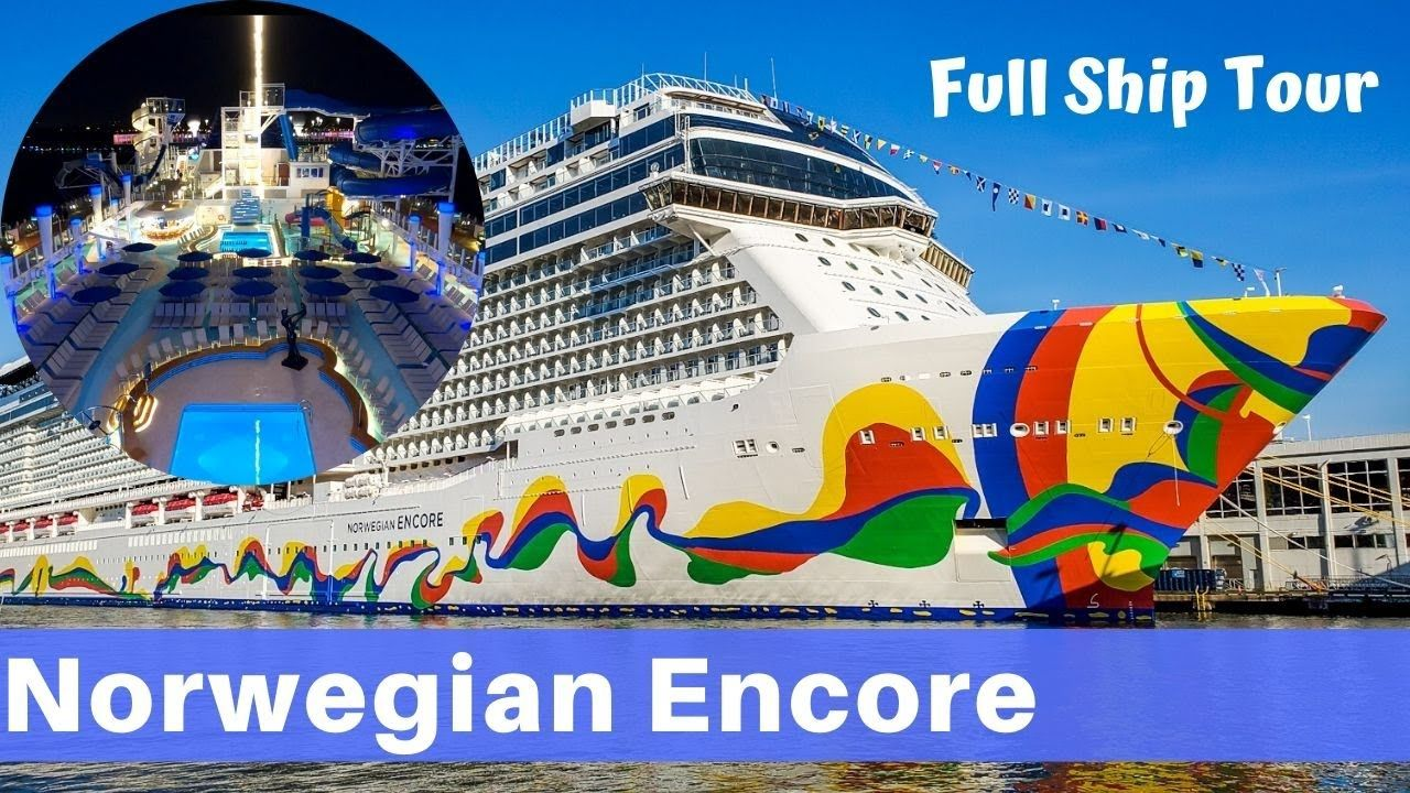 Video Tour Norwegian Encore Cruise Ship Review Check Out This