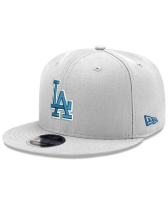 superior quality 5109f fcf73 New Era Los Angeles Dodgers Clubhouse 9FIFTY Snapback Cap - White Adjustable