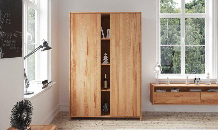 Armoire En Bois Massif Armoire Dressing En Bois Massif Moderne Soho Tall Cabinet Storage Storage Cabinet Tall Storage