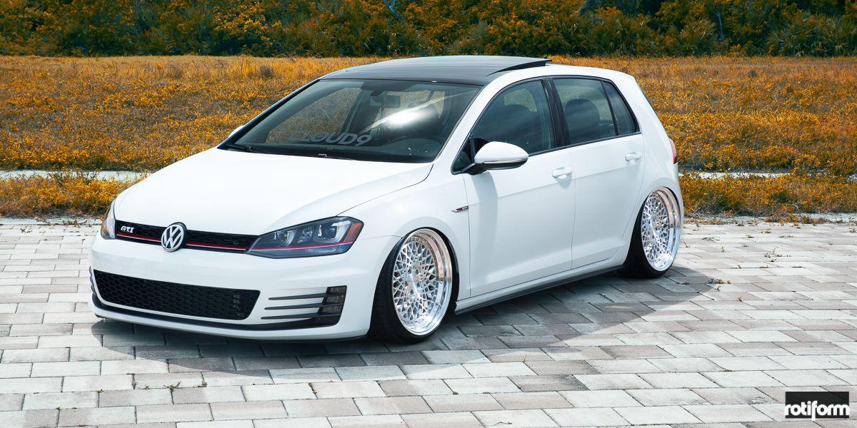Vw Golf Mk7 Tuning Pictures Volkswagen Gti Vw Golf Gti