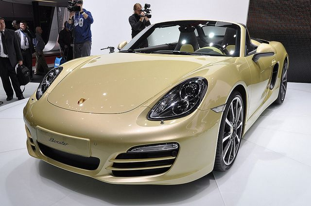 Porche Boxter     Wouldn't this be nice!