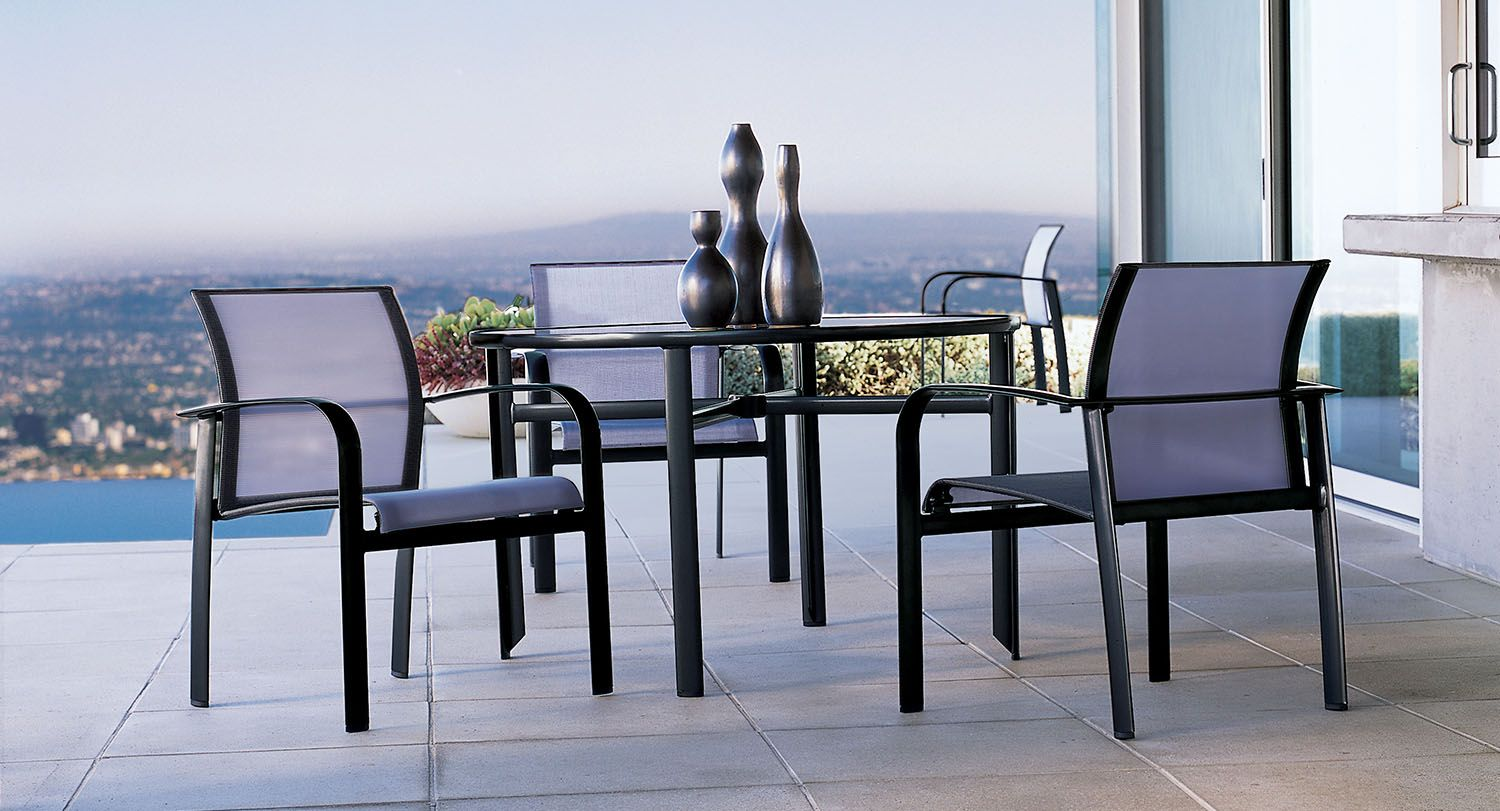 Modern Luxury Outdoor Tables And Chairs Sirocco From