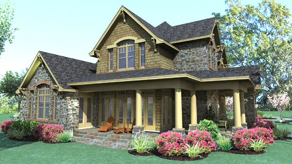 Cape Cod Lake House Plans With Porches And A Breezeway To Garage Designed For Perfe Country Style House Plans Craftsman Style House Plans Tuscan House Plans