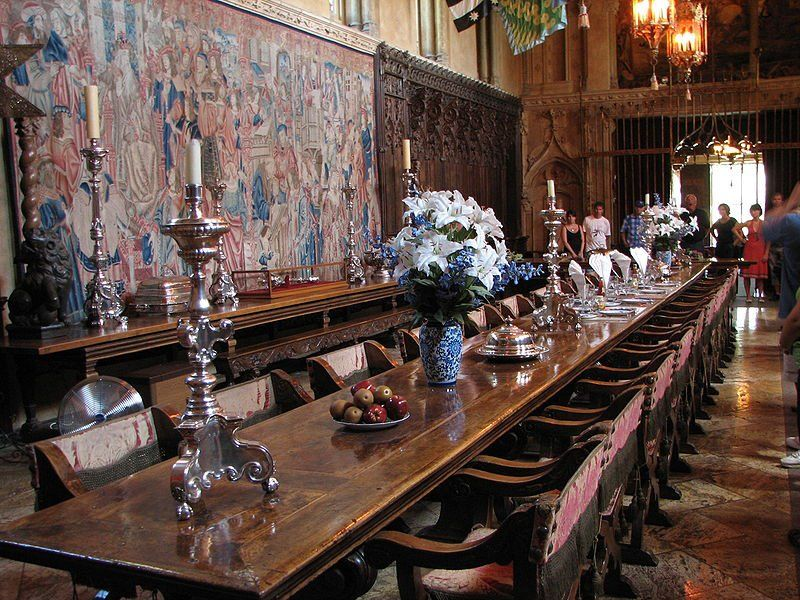 1 Hearst Castle The Main Dining Room Reminiscent Of A